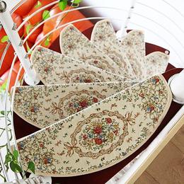 定制 欧式楼梯垫 楼梯踏步垫 家用防滑免胶自粘楼梯地毯