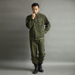 男士秋冬户外军绿色作训服服缩略图