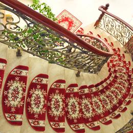南昌地垫定制 欧式楼梯垫 踏步垫 家用防滑免胶自粘楼梯地毯