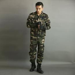 新款工作服套装男迷彩劳保服长袖户外运动作训可定制批发缩略图