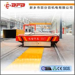 拉行车配套KPC滑触线有轨平车-地爬钢包车
