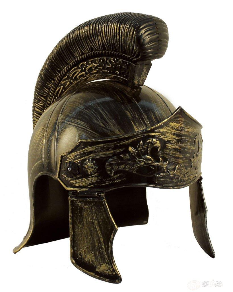 牛角头盔 塑料头盔 罗马头盔