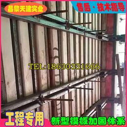 广东新型剪力墙模板支撑主背楞次背楞搭配组合灵活部件