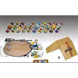 永骏玩具 6款实用道具手指滑板套装(配秘笈光盘) YJ9305A-F