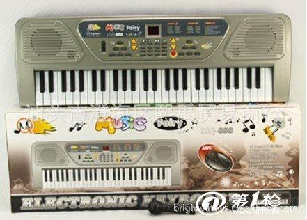 54键电子琴 热销型 标准键面_西洋键盘乐器_第一枪