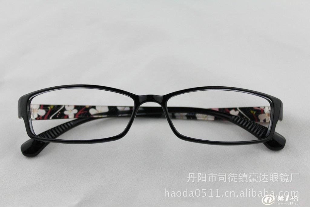 印花超轻tr90眼镜架图片