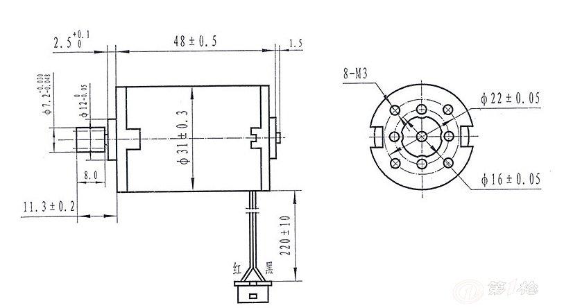 第一枪 产品库 电气与能源设备 电动机/电机 微电机 厂家供应31syt005