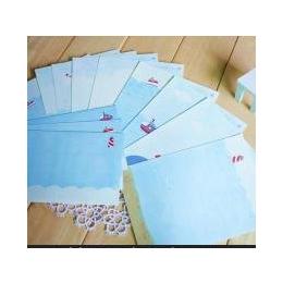 BMDM本木/香港文化生活 After 2012 信纸信封课程表 创意清新可爱