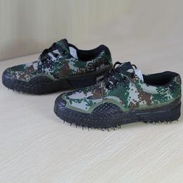 户外新款男式帆布军鞋迷彩解放鞋