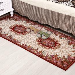 奢华玫瑰花家居装饰地毯 床头毯 垫 脚垫 飘窗垫 窗台垫