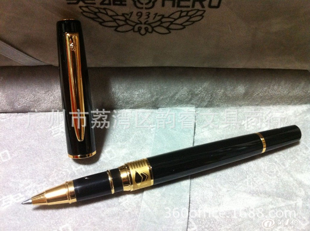 官方授权正品英雄钢笔批发 3801高级商务礼品签字笔 英雄宝珠笔图片