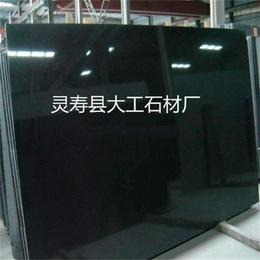 厂家批发中国黑石材 中国黑毛光板 中国黑花岗岩