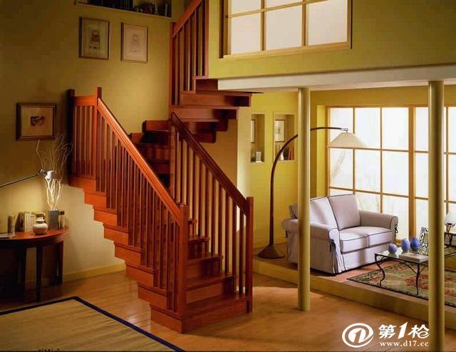 欧式 中式 简易 工艺 实木楼梯 实木大小立柱 护栏 扶手
