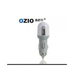 正品 OZIO奥舒尔-<em>USB</em>汽车车载充电器C10-1<em>车载</em>专用<em>手机充电器</em>
