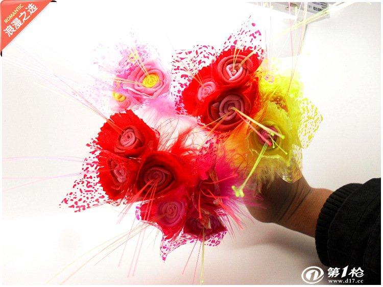 浪漫只选爆款货源树脂工艺玫瑰花圆珠笔多款混批馈赠好友礼品包邮