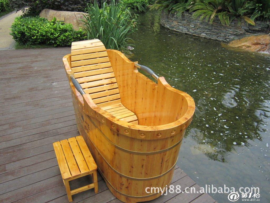 朴易香柏木木桶