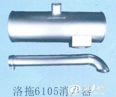 锡柴485汽车消声器结构图