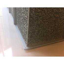 厂家供应过滤材料建筑幕墙消音 吸声泡沫铝