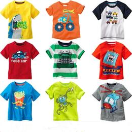 枣阳厂家批发夏季童装T恤衫儿童优质服装关爱小孩健康成长好衣服