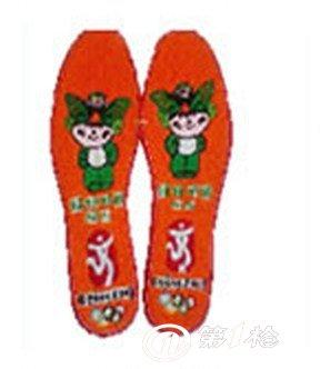 【支持批发】纯手工制作布艺鞋垫 福娃