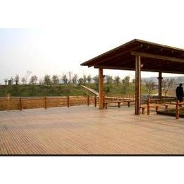 防腐木地板、木桥、围栏