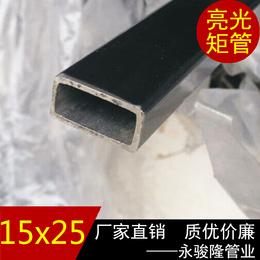 0Cr18Ni9不锈钢管价格 304矩管15x25mm