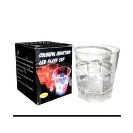 供应多款LED<em>发光</em><em>杯子</em>酒吧聚会创意酒杯八角杯批发