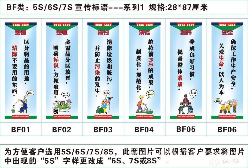 5s标语5s宣传画5s海报5s挂图5s图片5s活动口号5s图片