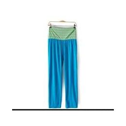 新款欧美大码女装胖mm外贸原单休闲瑜伽裤孕妇裤大码女裤松紧腰