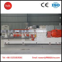 南京广塑GS-75 厂家直销高产量双螺杆WPC木塑造粒机