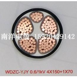 供应广州南洋电缆 国标低压电力电缆 VV 1x70 南牌电缆