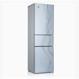 格力晶弘冰箱玻璃三门 彩虹镶钻白色 ****