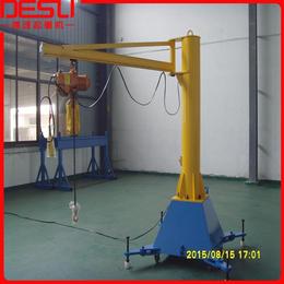 热销精品125kg移动式悬臂吊KBK旋臂吊手动悬臂式起重机