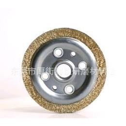 6寸6孔钢丝轮 野牛牌钢丝轮 厂家直销钢丝轮