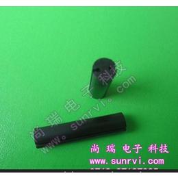 供应5mm双坑LED间隔柱 尼龙绝缘垫高柱 塑料隔离柱脚套