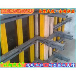 北京高层建筑核心筒剪力墙模板支撑施工速度快节省场地