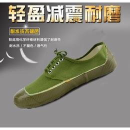 闯狼五六八普通解放鞋黄胶鞋帆布鞋劳保鞋民工鞋黄球鞋生产