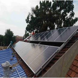 光伏太阳能发电家庭分布式安装中科蓝天光伏发电