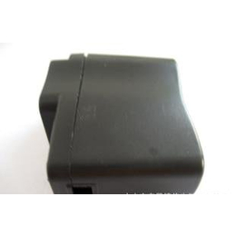 批发<em>出售</em>优质美规A288<em>手机充电器</em>外壳(黑色)线卡口带指示灯孔