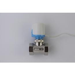 厂家热销 温控阀门DN20 电热温控阀 电热执行器