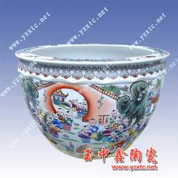 供应陶瓷大花盆定做陶瓷花盆陶瓷园林花盆