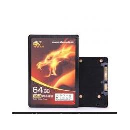 龙钻SSD 固态硬盘 64GB Intel SLC颗粒 SATA2 2.5寸 读160写150