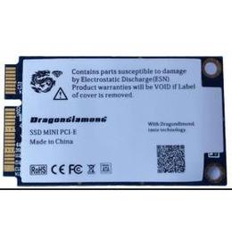 龙钻 msata SSD 64G 固态硬盘 minipci-e 原装 高速