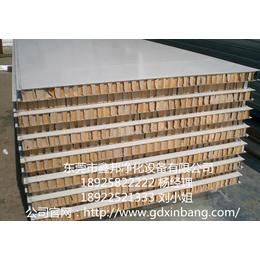 鑫邦纸蜂窝夹芯手工板彩钢板厂家