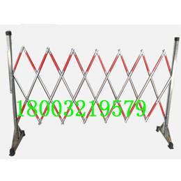 不锈钢管式伸缩围栏 安全围栏