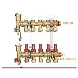 地暖 分水器 地暖智能控制曼瑞德 带流量计分集水器