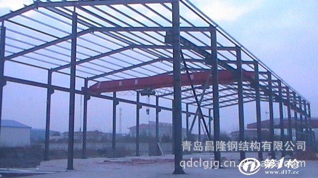 专业供应钢结构厂房