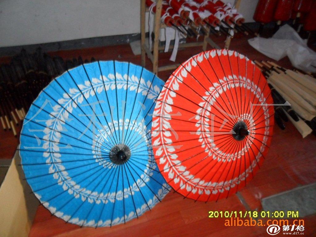 供应油纸伞(图)  日本舞蹈伞 工艺伞 油纸伞 绸伞 竹伞 选料考究,制作