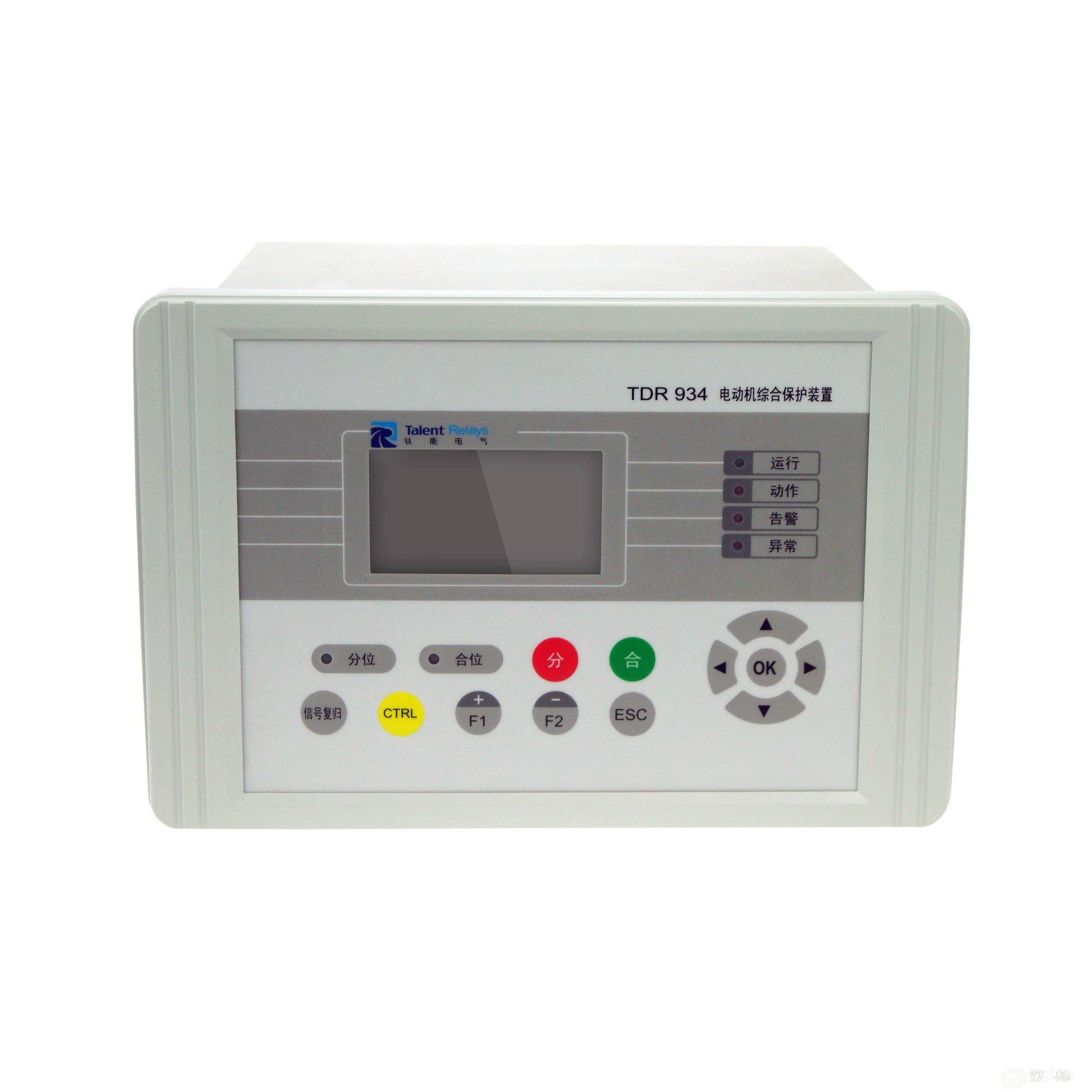 本装置测量元件采用专用测量ta,采用两表法接线.