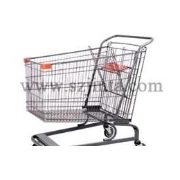 超市购物车/超市手推车/美式车 JS-TAM05